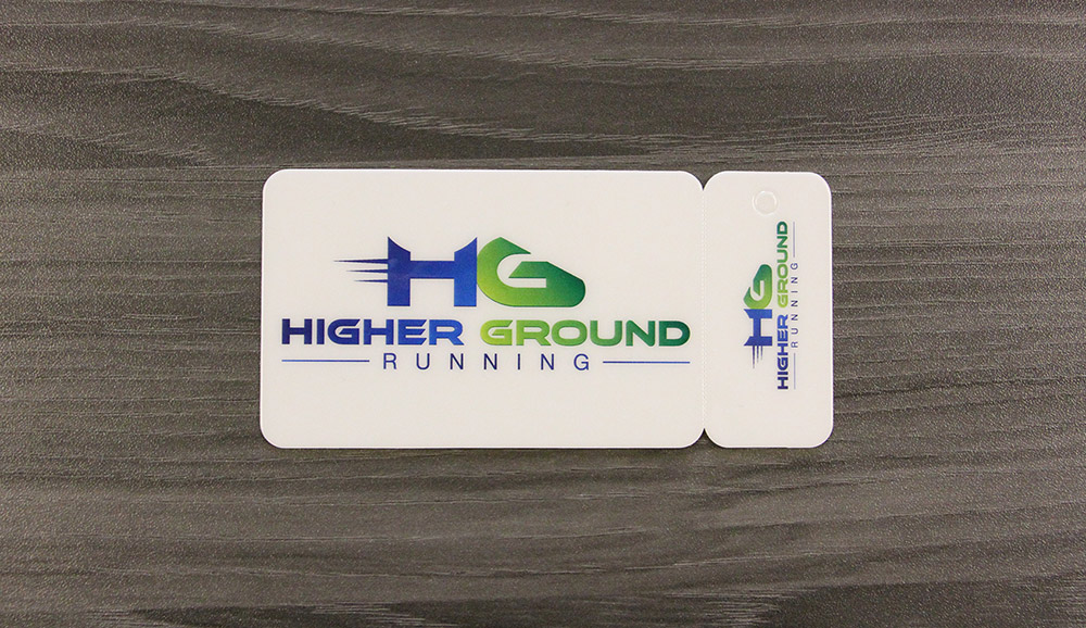 combination key tag and rewards card