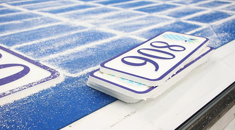plastic printed cards